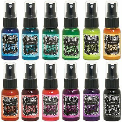 Dylusions Shimmer Sprays - All 12 Colours