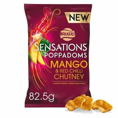 Sensations Poppadoms Mango & Red Chilli Chutney 82.5g
