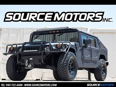 H1 4 Man Hard Top Slantback Hummer H1 4 Man Hard Top Slantback, Brushguard, LED's, Method Wheels, Bedliner