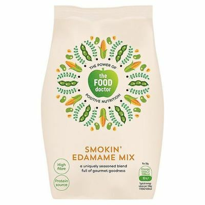 The Food Doctor Smokin' Edamame Mix 115g