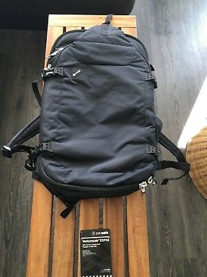 0565b980eb33 Pacsafe Venturesafe EXP45 anti-theft 45L carry-on travel pack - Preowned