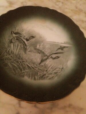 Buffalo Pottery Plate Wild Ducks Very good condition