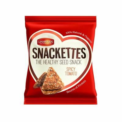 Linwoods Spicy Tomato Snackettes 30g