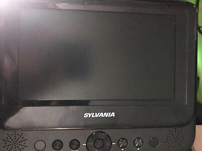 "Sylvania DVD Player Dual Screen 7"" LCD Monitors Replacement Screen"