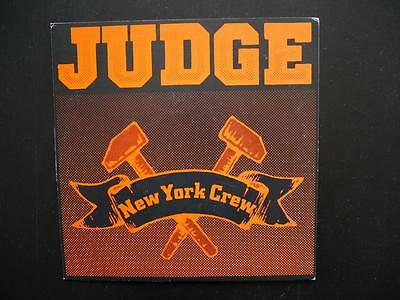 "Judge - New York Crew 1989, Vinyl, 7"", 1989 orange"