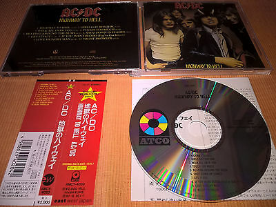 AC/DC – Highway To Hell CD..Japan..w/OBI..AMCY-4020