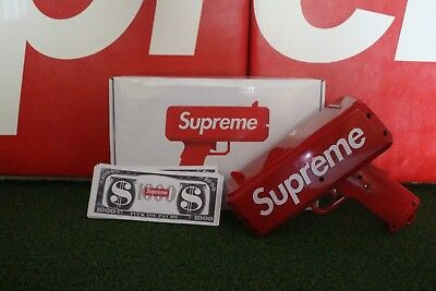 Supreme Dollar Bill from The Cash Cannon This listing is just for one bill Hype