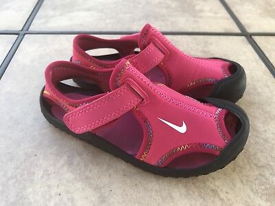 f92769f1a239b9 ... france nike sunray protect toddler girls sandals size 9c pink black  3b50f 87f82