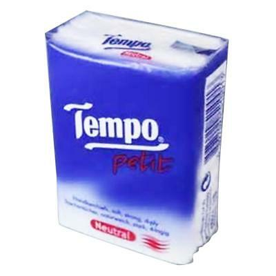Tempo Pocket Tissues x 36pcs NEUTRAL Petit