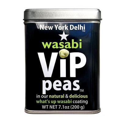 New York Delhi Wasabi Peas Gift Tin 200g