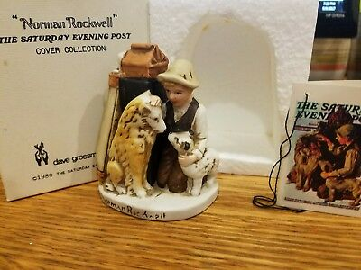 "Norman Rockwell ""Friend's In Need"" NR-213 ""Original box"""