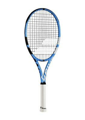 Babolat Pure Drive Lite Black/Blue/White Tennis Racquet 4 3/8 Grip Strung with