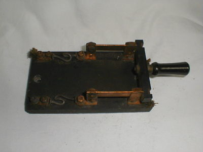 Large Antique Frankenstein Knife Switch,  Steam Punk