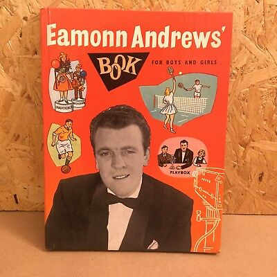 Vintage EAMON ANDREWS BOOK for boys and girls 1950s - Crackerjack