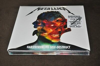 Hardwired...To Self-Destruct [Digipak] by Metallica (CD, Nov-2016, 2 Discs, Blac