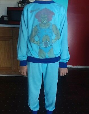 Thundercats vintage rare Pajama Set Boys 12-14 good condition Lion-O Mumm-Ra
