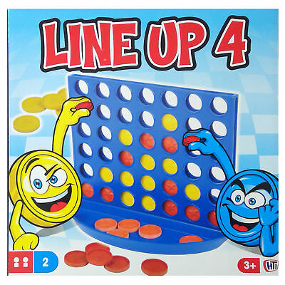 LINE UP 4/ Four in a Row/ Connect 4/ BOARD GAME for FAMILY & CHILDREN
