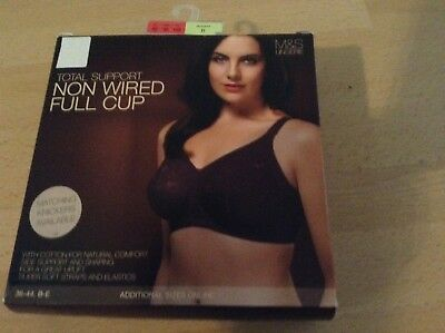855bd1a77c Bnib Total Support Non Wired Full Cup Bra Marks And Spencer Claret Uk Size  40D