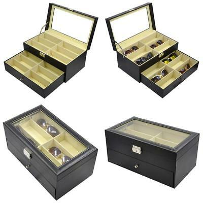 Holding 12 Glasses Or Watches, Sunglasses Case Glasses Eyewear Box Accessories O