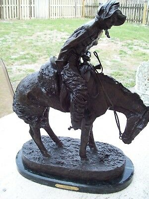 Up For Sale Sculpture Statue By Frederic Remington The Norther Exceptionalcondit