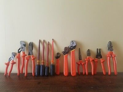 15 piece Cementex High Voltage 1000v insulated tools