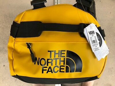 e7e88fb2be Vans x The North Face Base Camp Duffel Bag yellow black - backpack nordstrom