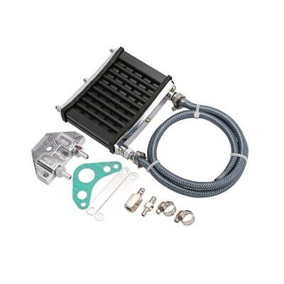 Black CNC Engine Oil Cooler Kit Radiator 125cc 140 150cc PIT Trail Dirt PRO New.