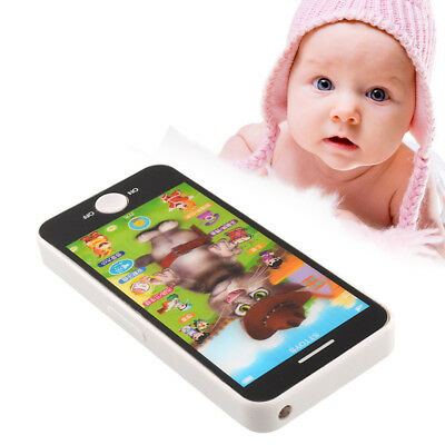 New Baby Simulator Music Touch-Screen Kid Children Educational learn Toy Phone