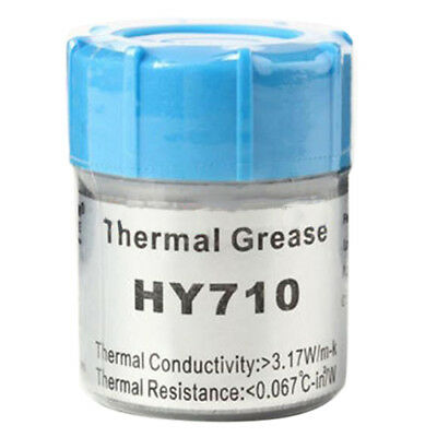 20g Silver Thermal Grease Paste Compound Chipset Cooling For CPU GPU HY710 S2N5