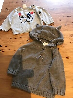 Seed Baby Boys Jumpers Size 3-6 Months