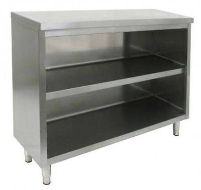 Commercial Stainless Steel Storage Dish Cabinet 14x48 - NSF