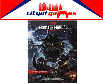D&D Dungeons & Dragons Monster Manual 5th Edition Brand New
