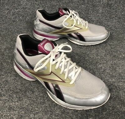 91b4b9a07293b Reebok Easy Tone Play Dry Tennis Shoes Womens Size 11 Walking Athletic  Mint