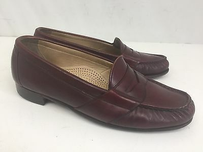 Men s Florsheim Imperial Quality Leather Cordovan Penny Loafers Size 8.5D 70ee2f74f56