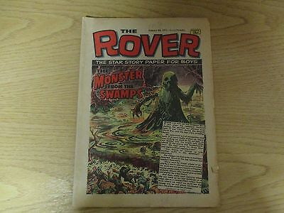 January 1972, THE ROVER, Charlie Greer, Ian Mather, Simon Todman, Bryn Charlton.