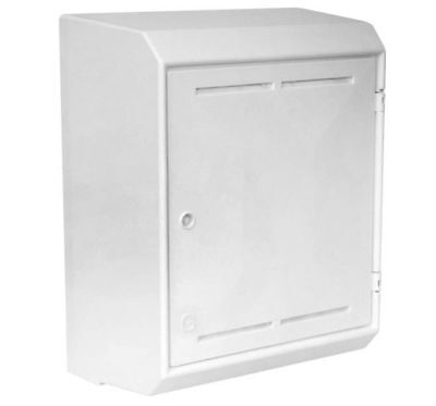 MK2 Mitras Surface Mounted GAS Meter Box MeterBox Mark 2 White + Key