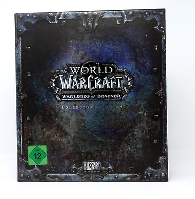 Wolrd of Warcraft Warlords of Draenor Collectors Edition Leer EMPTY Box WOW