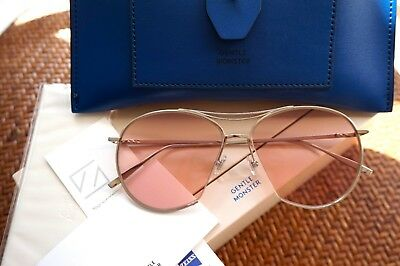 1be208053119 2018 GENUINE GENTLE Monster NEW TONIC S1 PINK SAND Sunglasses ...