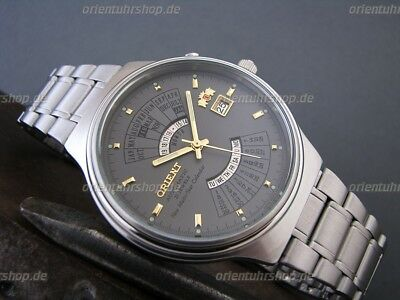 Orient Uhr Multi-Year Calendar Automatik Herrenuhr Japan Men's Watch FEU00002KW