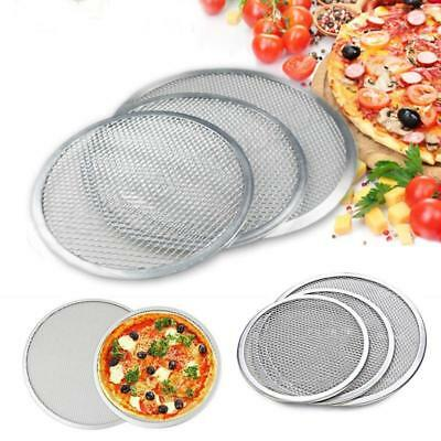 "Nonstick Round Mesh Pizza Screen Baking Tray Bakeware Cook Pizza Net6""7"" LH"