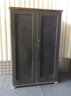 Small Victorian Satinwood Housekeepers/ Pantry Cupboard*free Delivery See Terms*