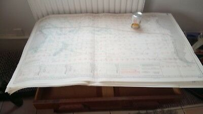 FULL SET of 12 nautical routeing charts of North Atlantic - chart 51248