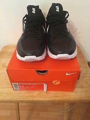 2aa05006ffb Brand new Nike Vapor Speed Turf LAX Trainer Shoes Black White Size 9.5