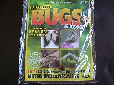 National Geographic Real-life Bugs & Insects magazine Issue 97