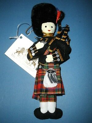 UK England Ornament Royal Collection Trust Bagpipe Player NWT