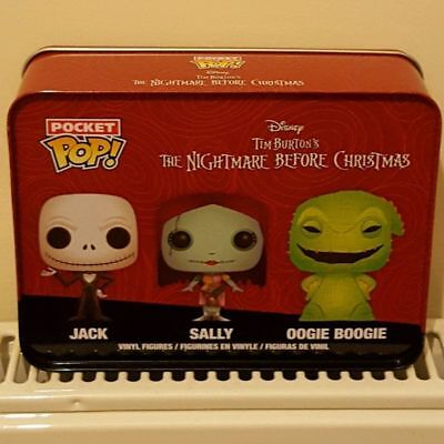 The Nightmare Before Christmas - Jack, Sally, Oogie Pocket Pop! Tin - FunKo