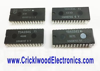 TDA1541R1 IC PHILIPS Audio DAC (Digital Analogue Converter) New Old Stock