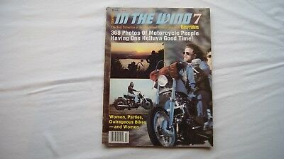 In The Wind 7 Magazine Special Photography Issue by Easyriders 1982