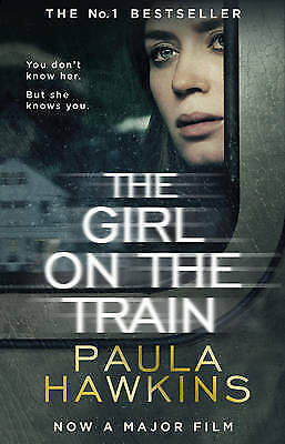The Girl on the Train by Paula Hawkins Paperback Book