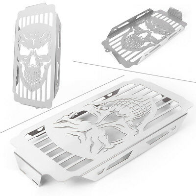 Skull Radiator Cover Grille For Honda Shadow 1100 VT1100 Spirit Sabre 1987-2007
